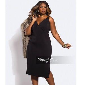 Plus Size Black Monif C Dress